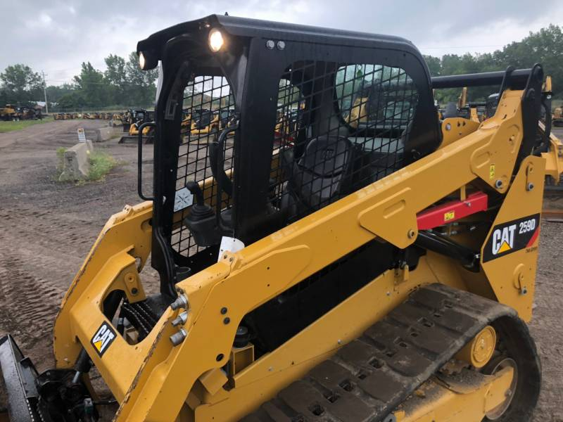 CATERPILLAR MULTI TERRAIN LOADERS 259 D equipment  photo 8