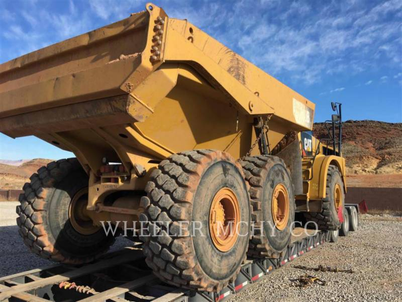 CATERPILLAR TOMBEREAUX ARTICULÉS 740B TG equipment  photo 3