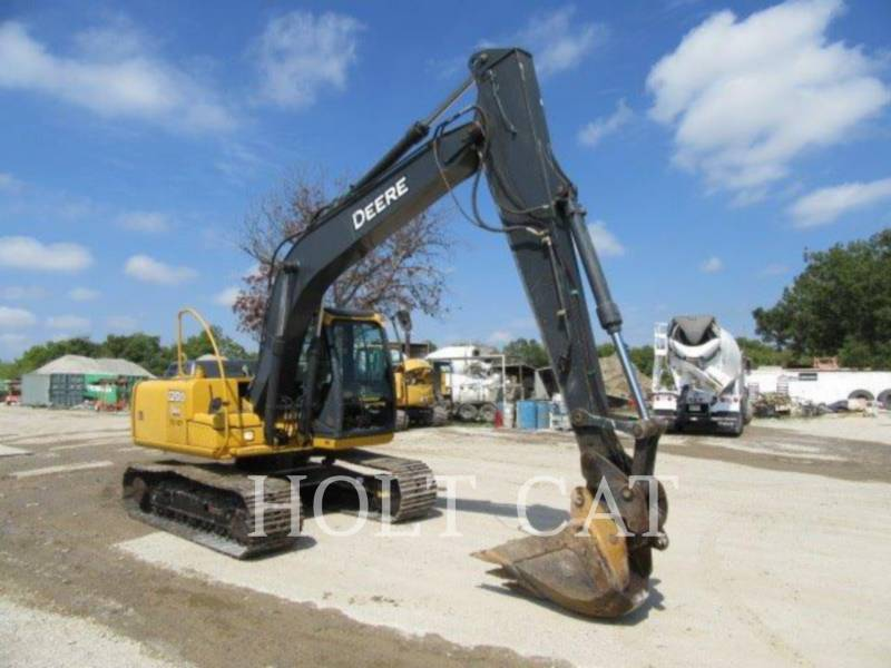 DEERE & CO. KETTEN-HYDRAULIKBAGGER 120D equipment  photo 2