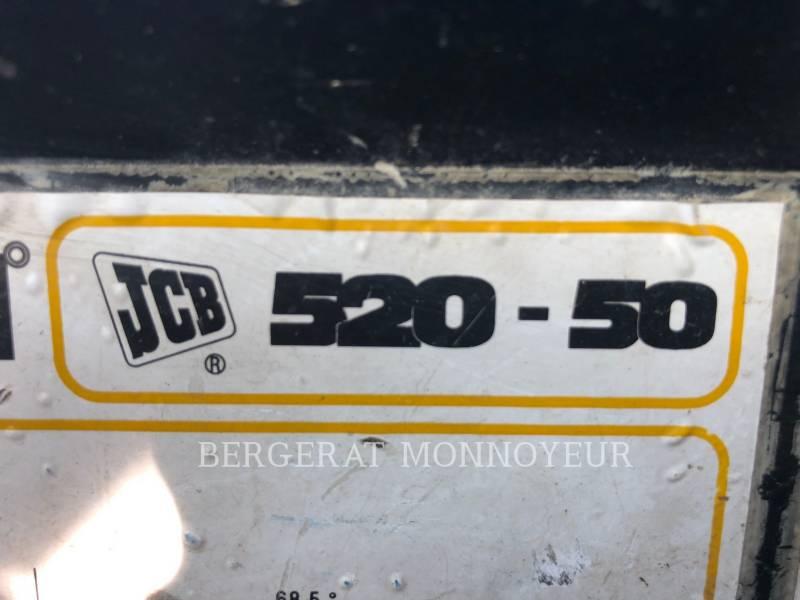 JCB CHARGEUR À BRAS TÉLESCOPIQUE 525/50 equipment  photo 3