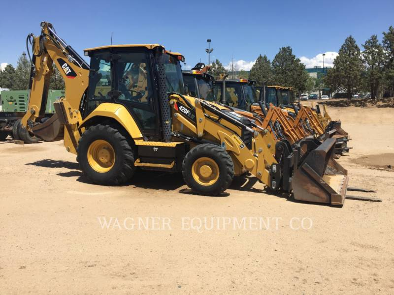 CATERPILLAR BACKHOE LOADERS 420F2 IT4E equipment  photo 1