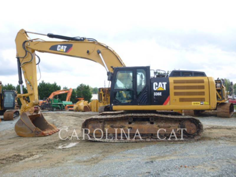 CATERPILLAR KETTEN-HYDRAULIKBAGGER 336ELQC equipment  photo 1