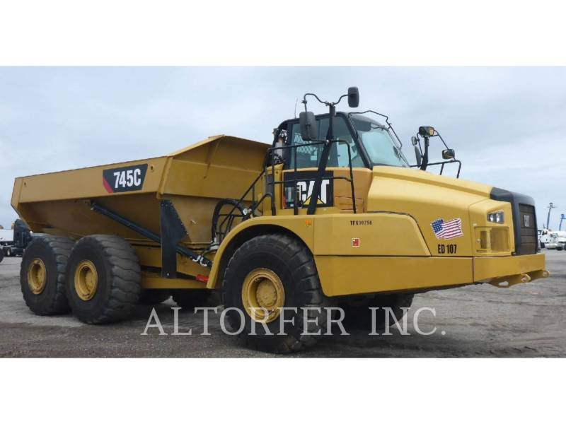 CATERPILLAR CAMIONES ARTICULADOS 745C equipment  photo 1