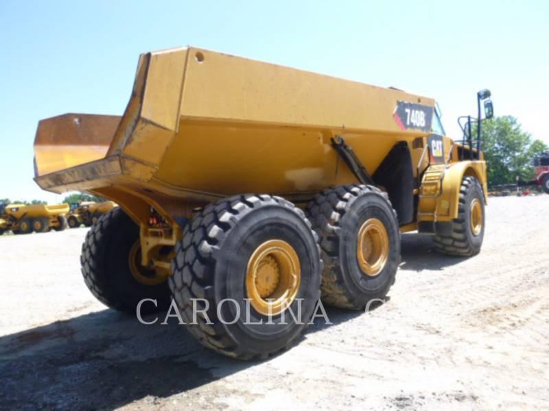 CATERPILLAR KNICKGELENKTE MULDENKIPPER 740 B equipment  photo 5