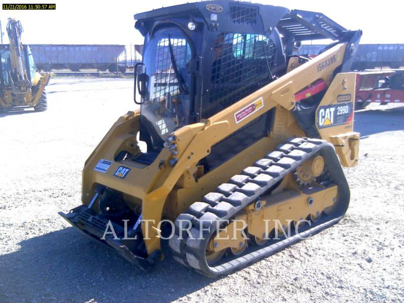 CATERPILLAR CHARGEURS COMPACTS RIGIDES 299D2XHP equipment  photo 1