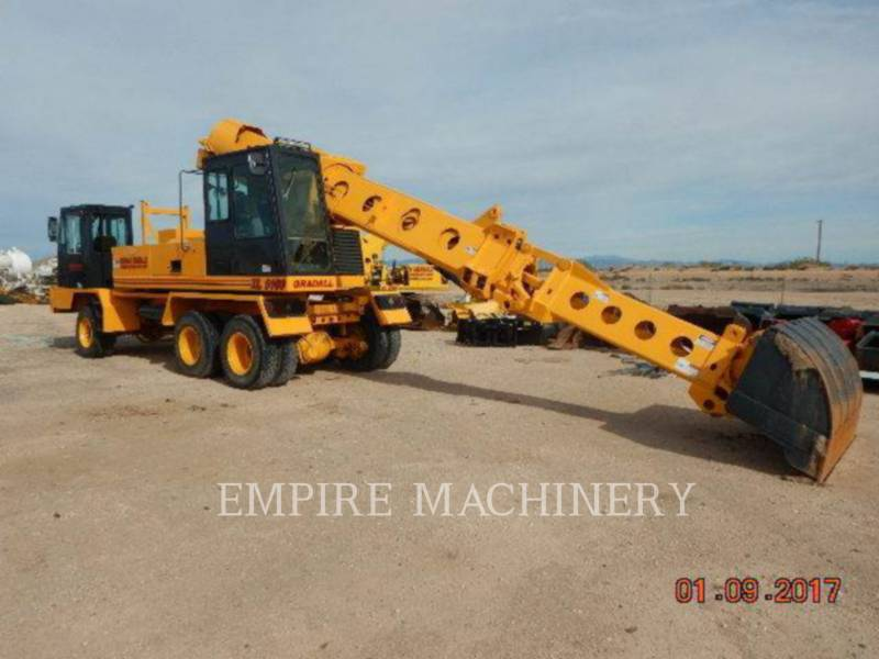 GRADALL COMPANY TRACK EXCAVATORS XL5100 equipment  photo 5