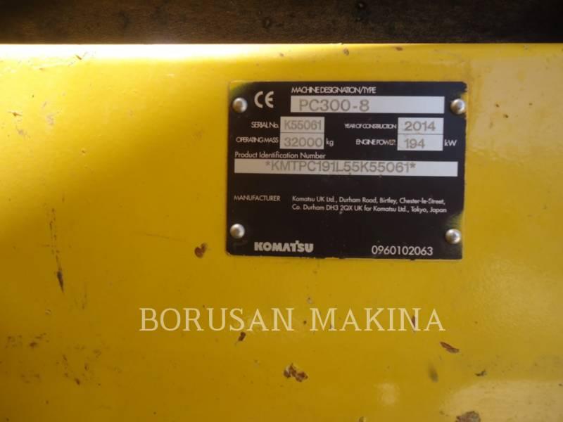 KOMATSU KETTEN-HYDRAULIKBAGGER PC 300-8 equipment  photo 7