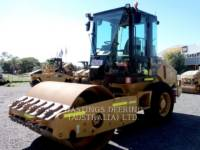 Equipment photo CATERPILLAR CS44 VIBRATORY SINGLE DRUM SMOOTH 1