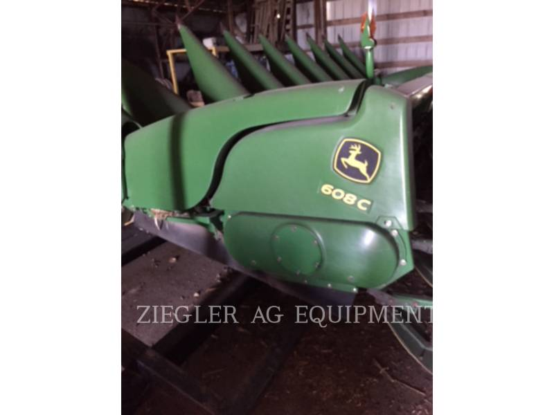 DEERE & CO. Köpfmaschinen 608C equipment  photo 1
