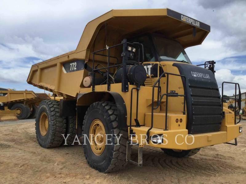 CATERPILLAR DUMPER A TELAIO RIGIDO DA MINIERA 772 equipment  photo 5