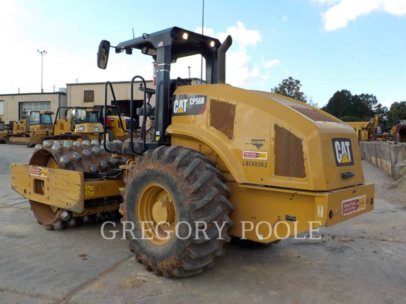 CATERPILLAR EINZELVIBRATIONSWALZE, BANDAGE CP56B equipment  photo 9