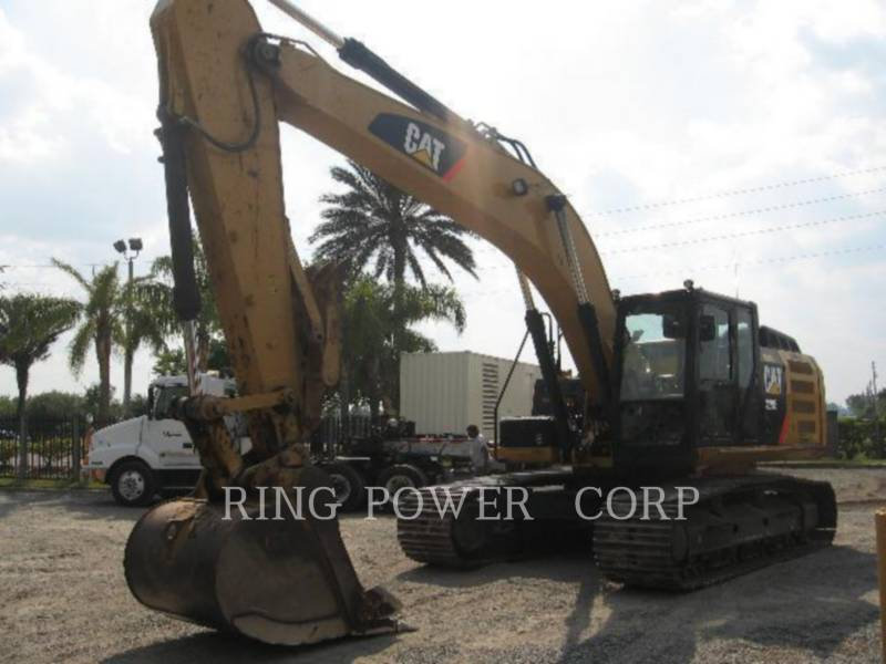 CATERPILLAR TRACK EXCAVATORS 329ELTHUMB equipment  photo 1