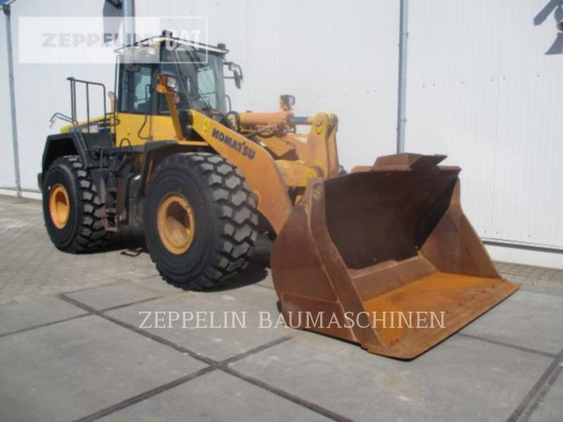 KOMATSU LTD. CARGADORES DE RUEDAS WA480LC-6 equipment  photo 3
