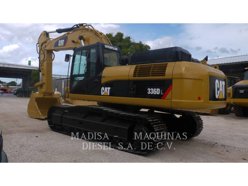 CATERPILLAR EXCAVADORAS DE CADENAS 336D equipment  photo 3