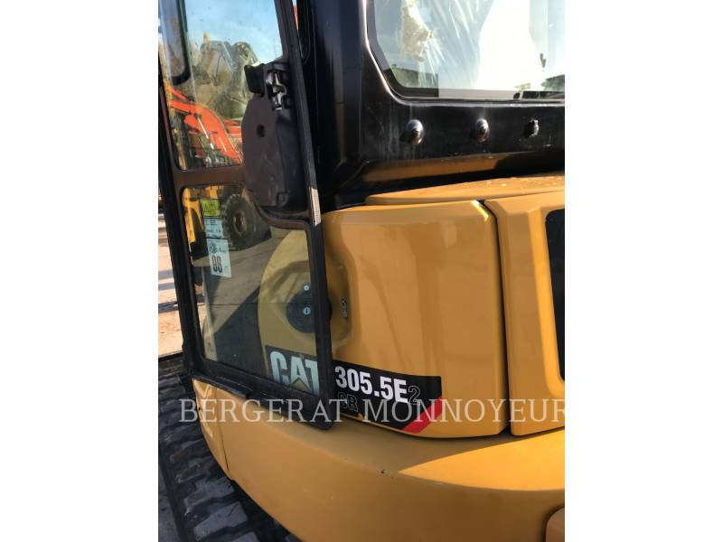 CATERPILLAR TRACK EXCAVATORS 305.5 E2 CR equipment  photo 7