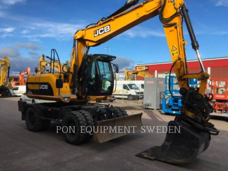 JCB PELLES SUR PNEUS JS145 W equipment  photo 1