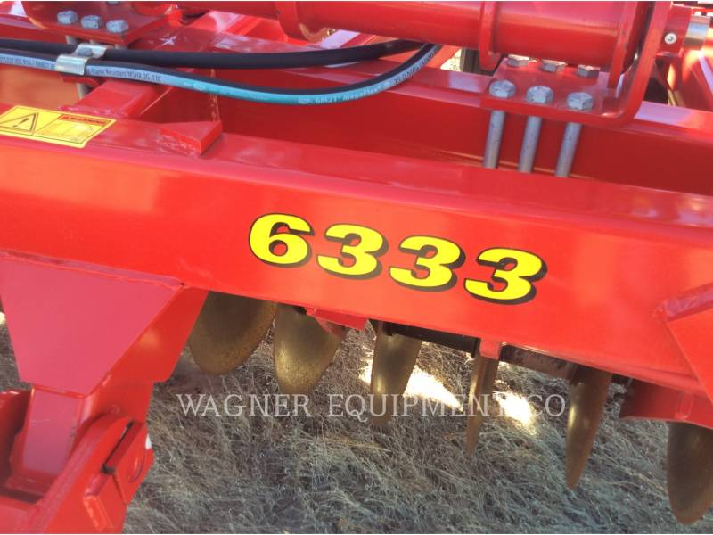 SUNFLOWER MFG. COMPANY AG TILLAGE EQUIPMENT SF6333-31 equipment  photo 16
