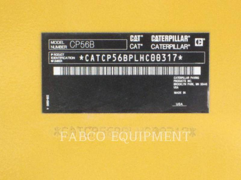 CATERPILLAR COMPACTADORES CP56B equipment  photo 2