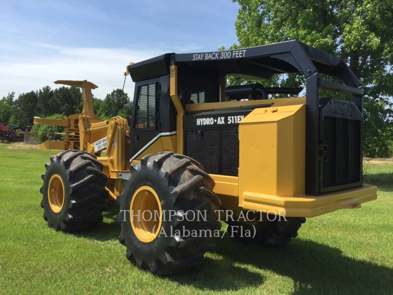 HYDRO-AX FORESTRY - FELLER BUNCHERS - WHEEL 511EX equipment  photo 10