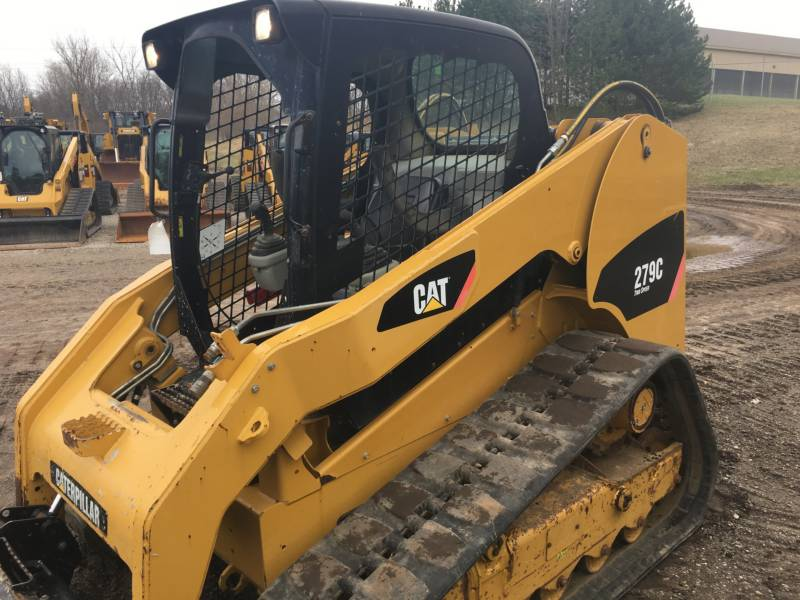 CATERPILLAR CARGADORES MULTITERRENO 279C equipment  photo 2