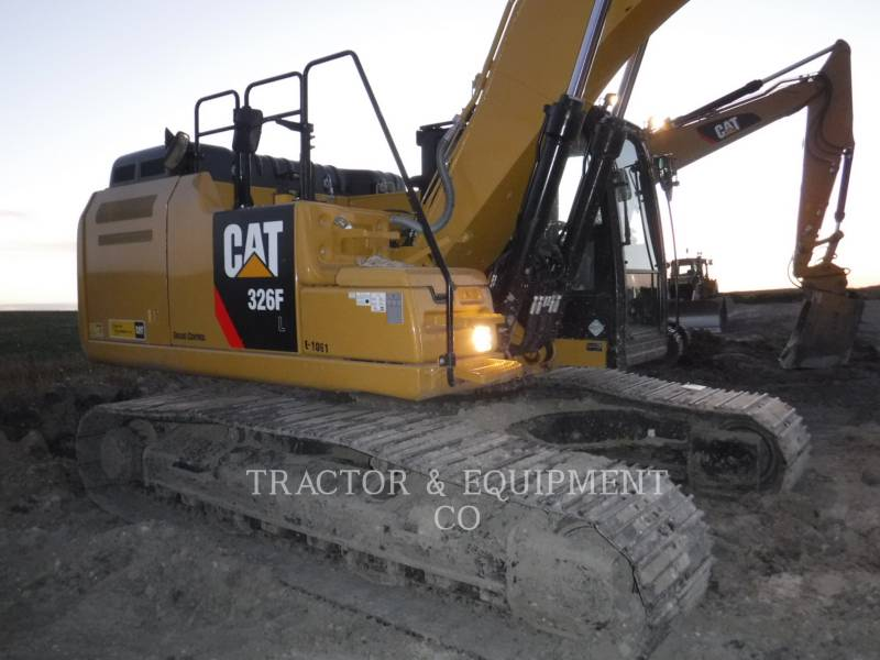 Caterpillar EXCAVATOARE PE ŞENILE 326F L equipment  photo 4