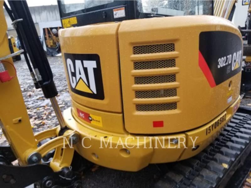 CATERPILLAR TRACK EXCAVATORS 302.7DCR equipment  photo 4