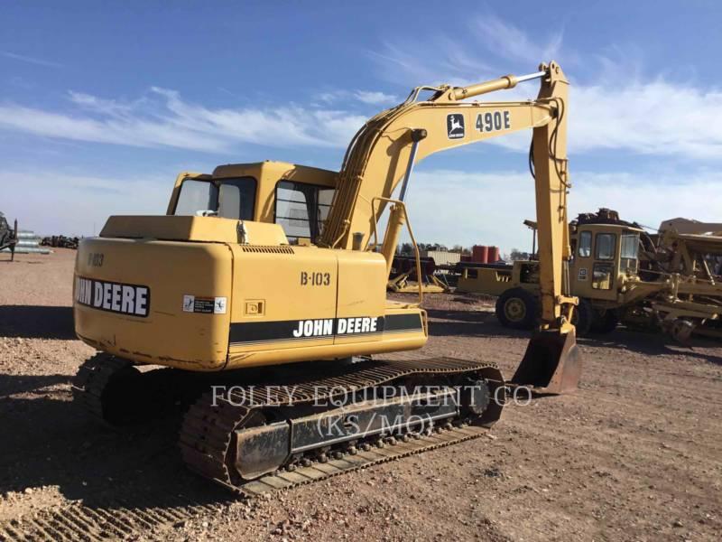 JOHN DEERE TRACK EXCAVATORS 490E equipment  photo 3