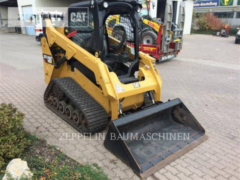 CATERPILLAR KOMPAKTLADER 257D equipment  photo 4