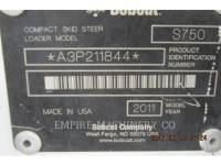 BOBCAT CHARGEURS COMPACTS RIGIDES S750 equipment  photo 15