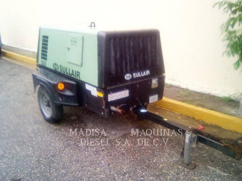 SULLAIR AIR COMPRESSOR 185DPQCAT equipment  photo 1