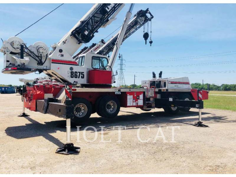 LINK-BELT CRANES CRANES HTC-8675 II equipment  photo 1