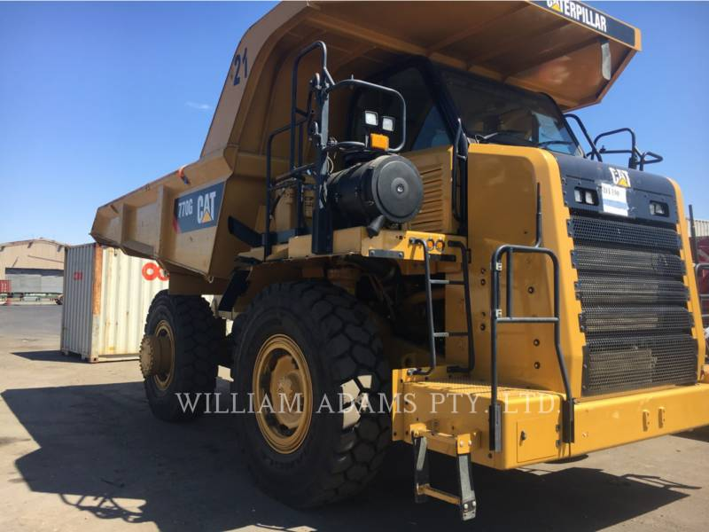 CATERPILLAR OFF HIGHWAY TRUCKS 770G equipment  photo 5