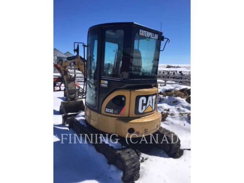 CATERPILLAR KETTEN-HYDRAULIKBAGGER 303CCR equipment  photo 2