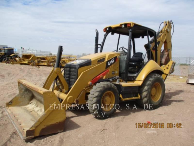 CATERPILLAR BAGGERLADER 416FST equipment  photo 1