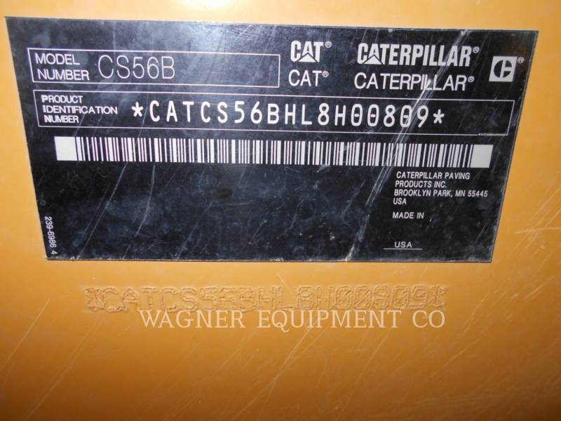 CATERPILLAR COMPACTADORES CS56B equipment  photo 5