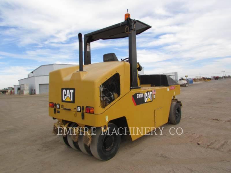 CATERPILLAR GUMMIRADWALZEN CW14 equipment  photo 2