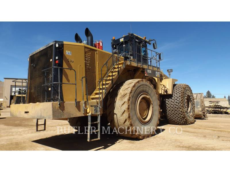 Caterpillar ÎNCĂRCĂTOR MINIER PE ROŢI 993 K equipment  photo 5