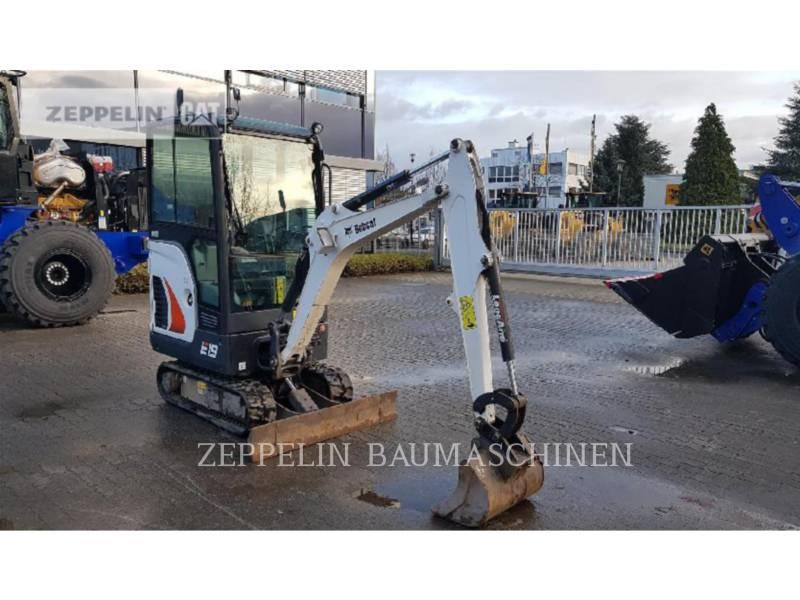 BOBCAT トラック油圧ショベル E19 equipment  photo 2