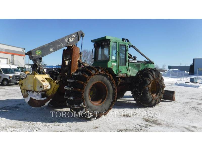 TIMBERJACK INC. FORESTAL - ARRASTRADOR DE TRONCOS 560D equipment  photo 1