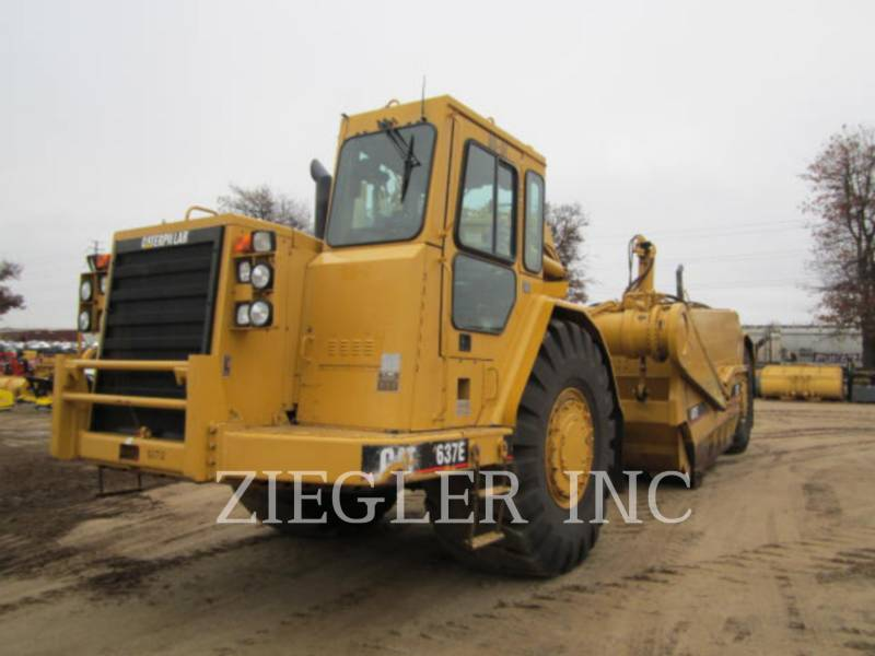 CATERPILLAR MOTOESCREPAS 637EII equipment  photo 1