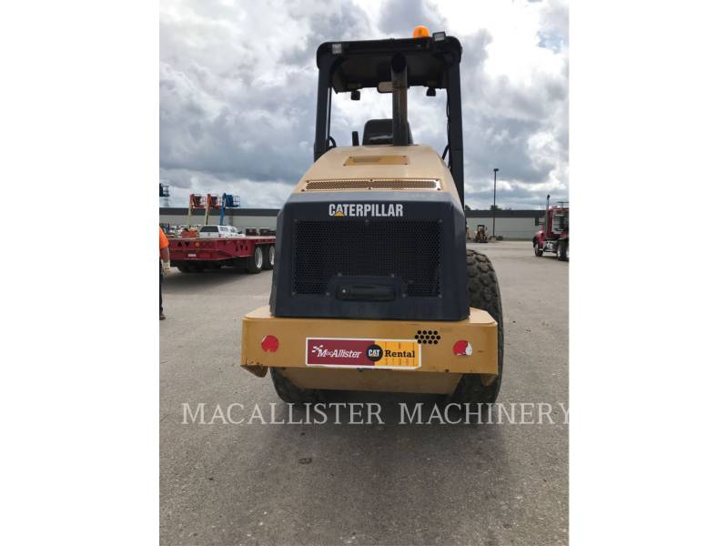 CATERPILLAR COMPATTATORE A SINGOLO TAMBURO VIBRANTE LISCIO CS44 equipment  photo 4