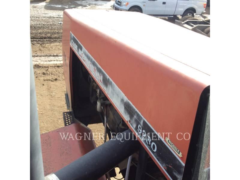 CASE TRACTEURS AGRICOLES 9280 equipment  photo 24