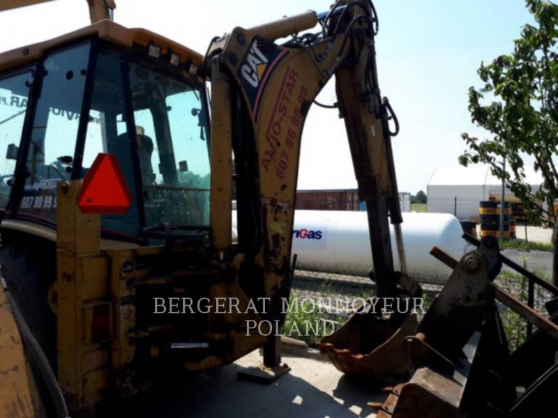 CATERPILLAR RETROESCAVADEIRAS 428D equipment  photo 3
