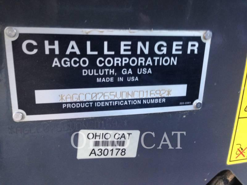 AGCO-CHALLENGER TRACTORES AGRÍCOLAS MT765D equipment  photo 21