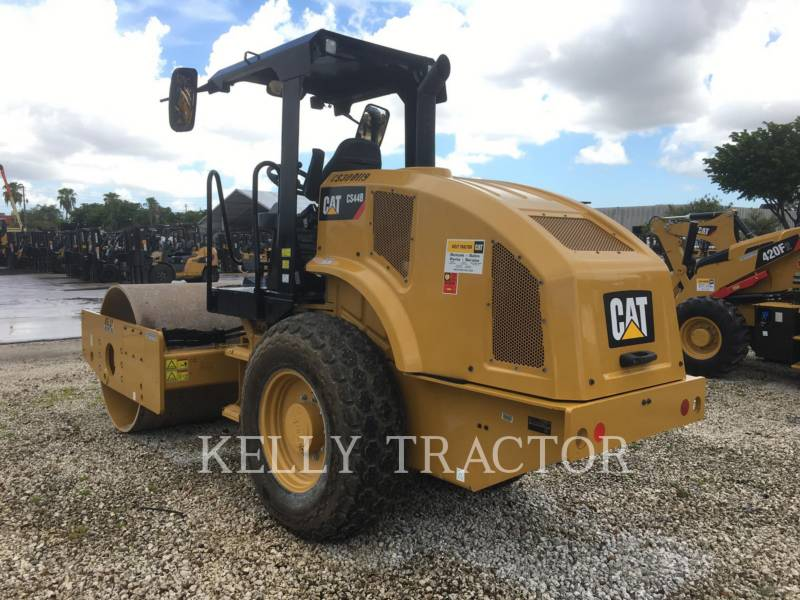 CATERPILLAR COMPACTEUR VIBRANT, MONOCYLINDRE LISSE CS44B equipment  photo 3