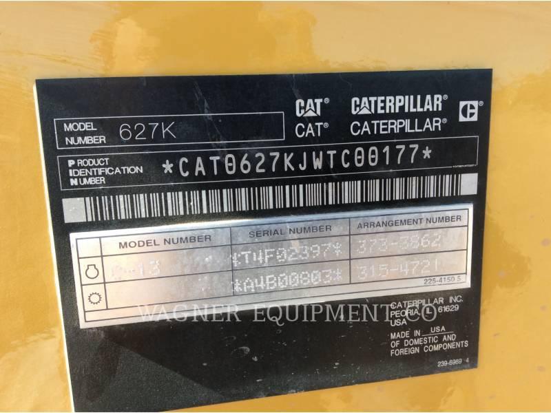 CATERPILLAR DECAPEUSES AUTOMOTRICES 627K equipment  photo 5