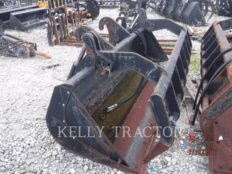 CATERPILLAR RETENTOR 1.1 CYD MULTI-GRAPPLE BUCKET FOR TELEHANDLER equipment  photo 1