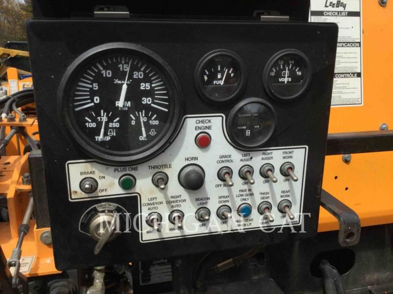 LEE-BOY PAVIMENTADORA DE ASFALTO 8500C equipment  photo 6