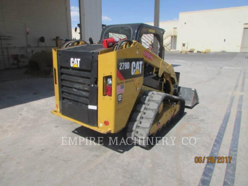 CATERPILLAR KOMPAKTLADER 279D XPS equipment  photo 2