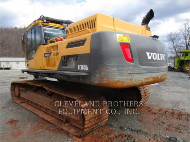 VOLVO CONSTRUCTION EQUIPMENT TRACK EXCAVATORS EC380DL equipment  photo 4
